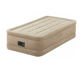Intex Luchtbed Twin Ultra Plush Luxe Eenpersoons Bed