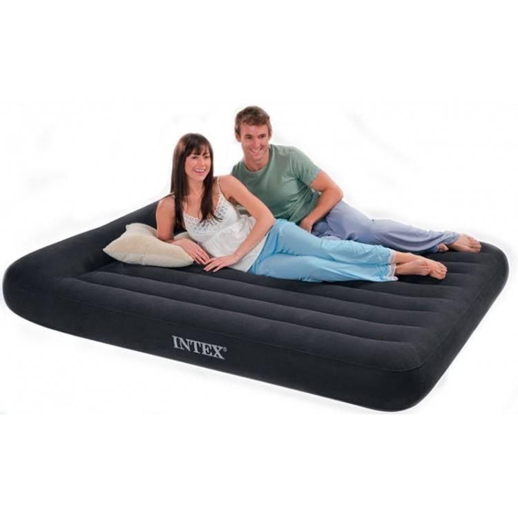 Intex Luchtbed Queeen Pillow Rest Classic Ruim Tweepersoons