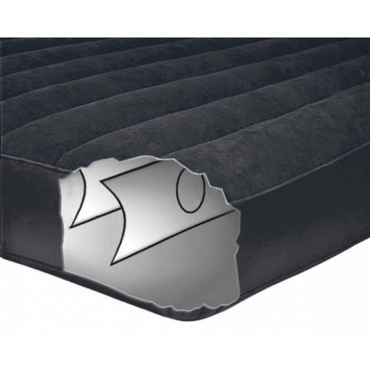 Intex Luchtbed Twin Pillow Rest Classic Ruim Eenpersoons ( incl. Motorpomp )