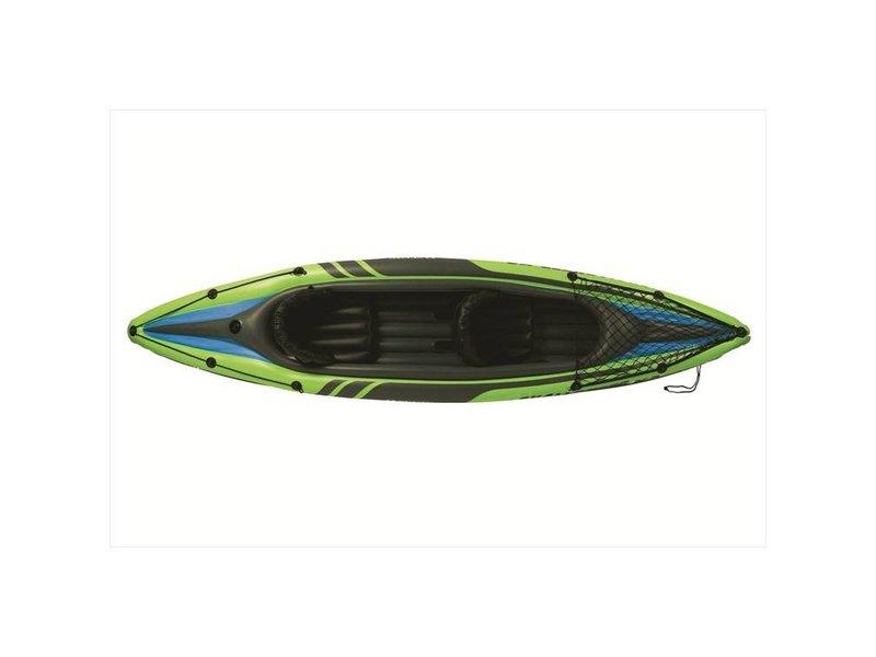 Intex Opblaasboot Challenger K2 Kajak Tweepersoons (Incl. Peddels en Pomp)