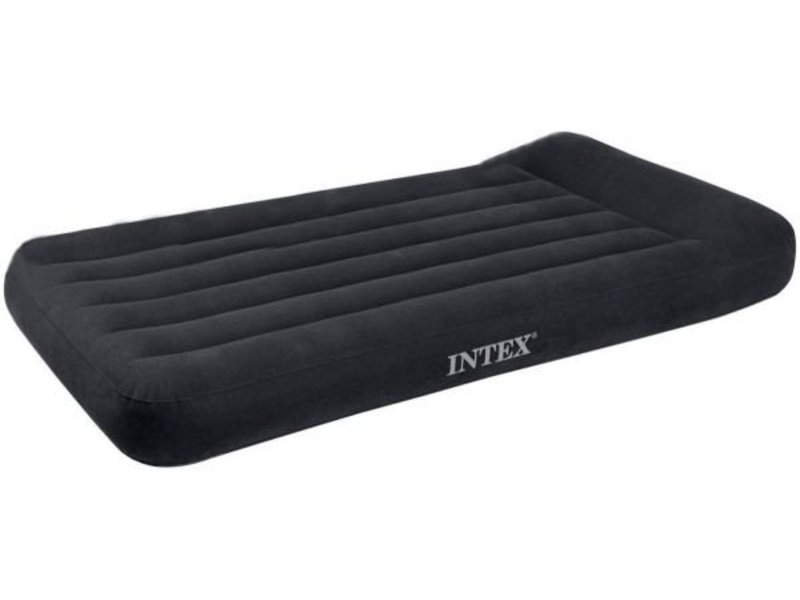 Intex Luchtbed Twin Pillow Rest Classic Eenpersoons ( incl. Motorpomp )