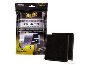 Meguiar's Ultimate Black Trim Sponges