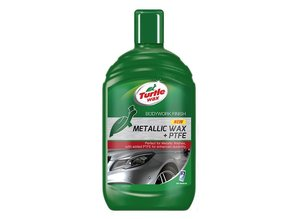 Turtle Wax Metallic Car Wax + PTFE - 500ml