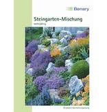 Benary Blumenmischung Steingarten-Mischung, winterhart, mehrjährig