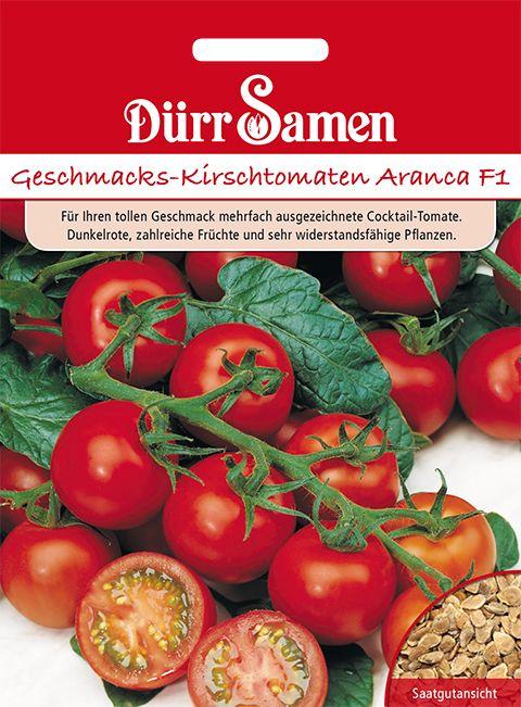 Dürr Samen Geschmacks-Kirschtomaten Aranca F1