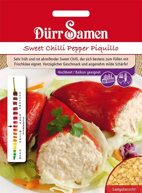 Dürr Samen Sweet Chili Pepper  Piquillo