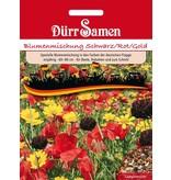 Dürr Samen Blumenmischung Schwarz/Rot/Gold