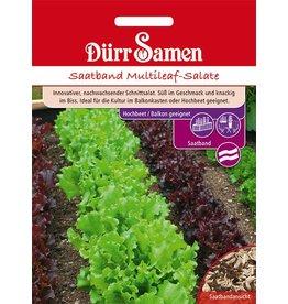 Dürr Samen Saatband  Multileaf-Salate für Balkon