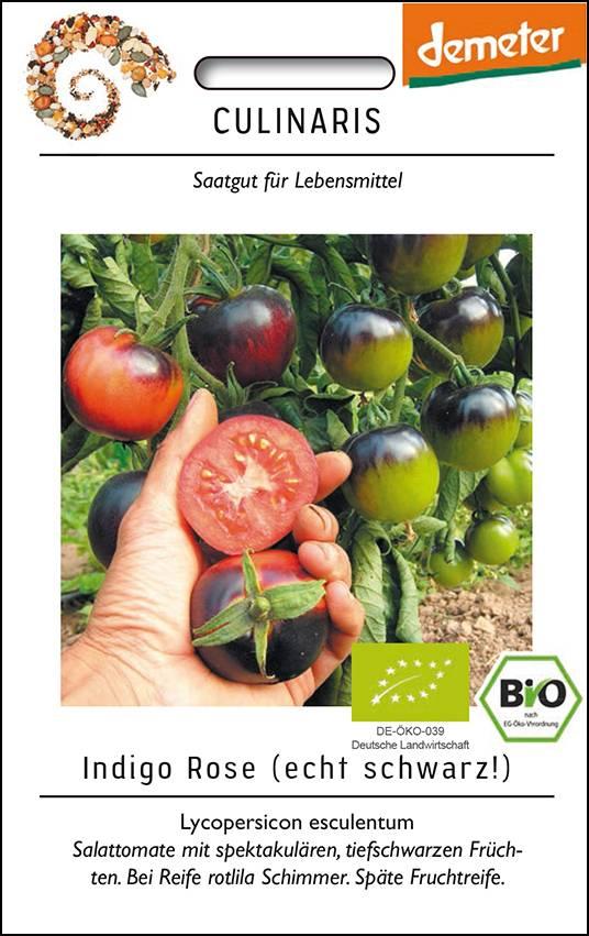 Culinaris BIO-Salattomate Indigo Rose
