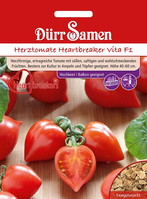 Dürr Samen Herztomate Heartbreaker Vita F1