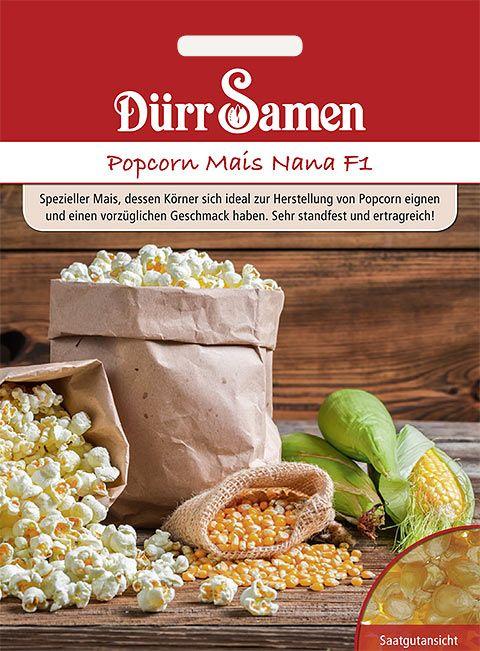 Dürr Samen Popcorn Mais Nana F1