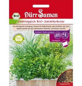 Dürr Samen BIO-Salatkräuter Saatteppich
