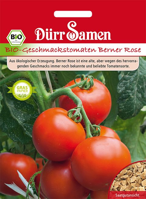 Dürr Samen BIO-Geschmackstomaten Berner Rose