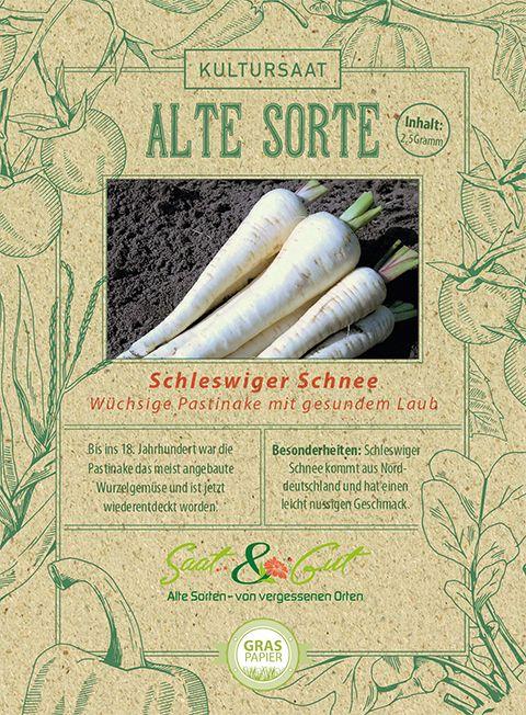 Saat & Gut BIO-Pastinake Schleswiger Schnee