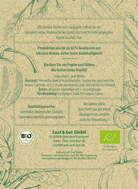 Saat & Gut BIO-Bohne Klosterfrauen