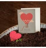Stadtgärtner Saat-Grußkarte Alles Liebe zur Hochzeit