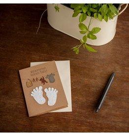 Stadtgärtner Saat-Grußkarte Willkommen kleines Baby