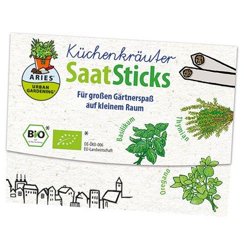 Aries BIO-SaatSticks Küchenkräuter