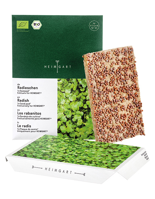 Heimgart BIO-Radieschen Microgreen Saatpad