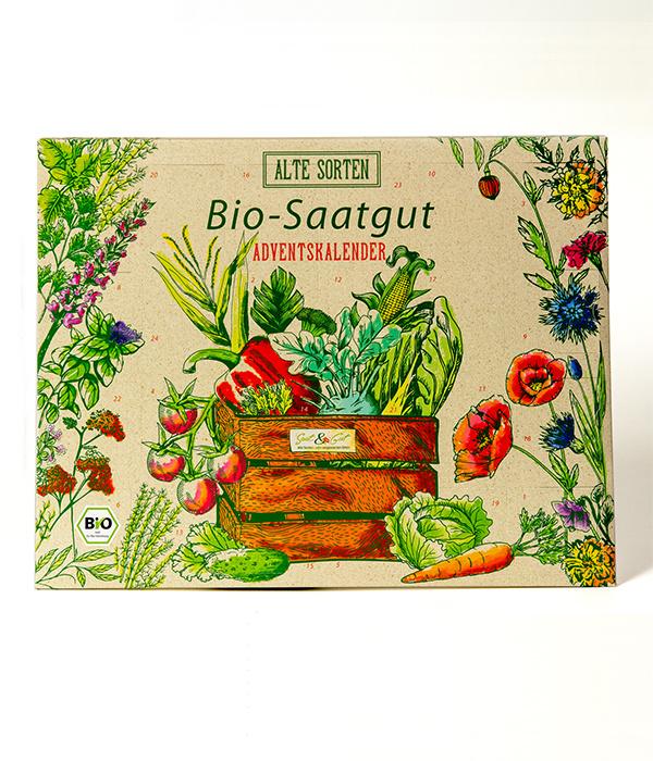 Saat & Gut BIO Alte Sorten Saatgut Adventskalender