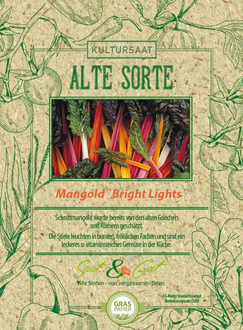 Saat & Gut BIO-Mangold Bright Lights