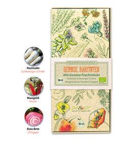 Saat & Gut BIO-Saatgut Geschenk-Box Alte Gemüse Prachtstücke