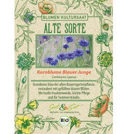 Saat & Gut BIO-Kornblume Blauer Junge