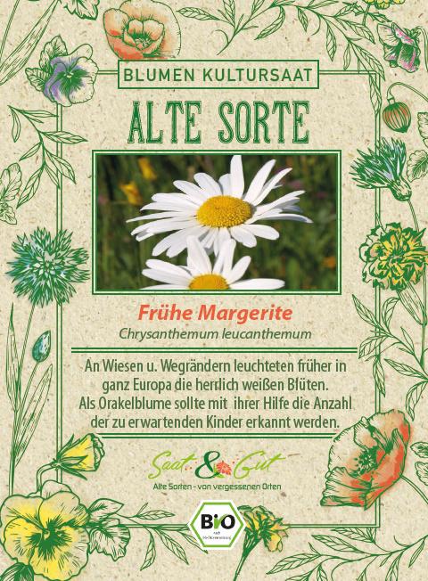 Saat & Gut BIO-Frühe Margerite
