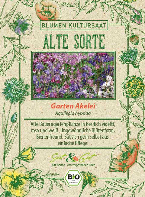 Saat & Gut BIO-Garten Akelei