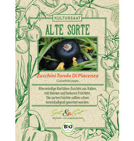 Saat & Gut BIO-Zucchini Tondo Di Piacenza