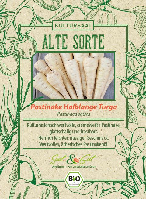 Saat & Gut BIO-Pastinake Halblange Turga