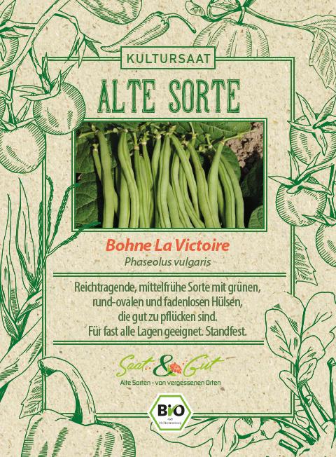Saat & Gut BIO-Bohne La Victoire