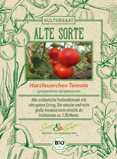 Saat & Gut BIO-Harzfeuerchen Tomate