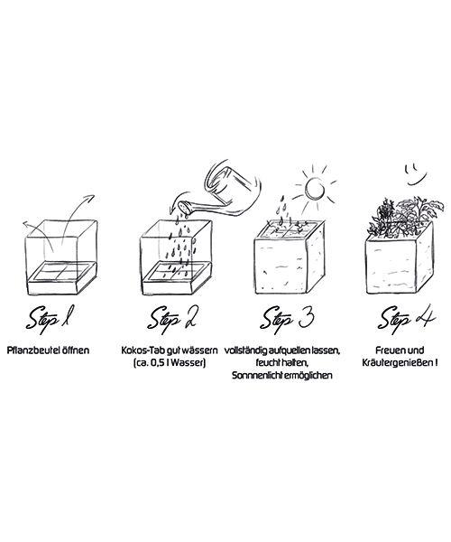 Saat & Gut Kräuterbox - Ihr Kräutergarten