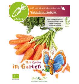 Saat & Gut BIO-Möhre Nantaise - für Kinder