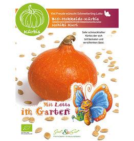 Saat & Gut BIO-Hokkaido-Kürbis Uchiki Kuri - für Kinder