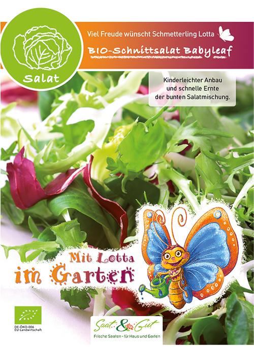 Saat & Gut BIO-Schnittsalat Babyleaf - für Kinder