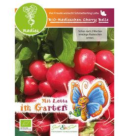Saat & Gut BIO-Radieschen Cherry Belle - für Kinder