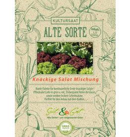 Saat & Gut BIO-Knackige Salat Mischung