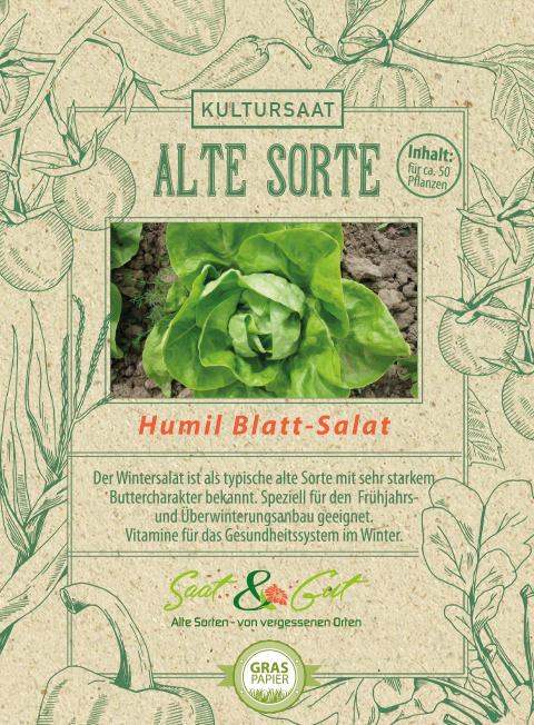 Saat & Gut BIO-Blattsalat Humil