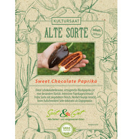 Saat & Gut BIO-Paprika Sweet Chocolate
