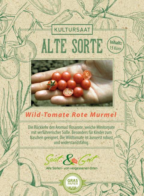 Saat & Gut BIO-Wildtomate Rote Murmel