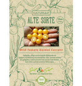 Saat & Gut BIO-Wildtomate Golden Currant