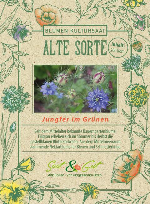 Saat & Gut BIO-Jungfer im Grünen