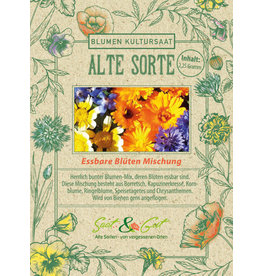 Saat & Gut BIO-Essbare Blüten Mischung