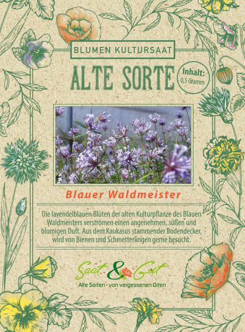 Saat & Gut BIO-Blauer Waldmeister