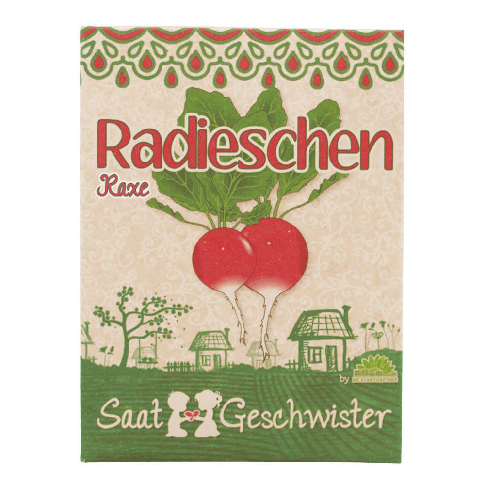 Stadtgärtner Saatgeschwister - BIO Radieschen Raxe