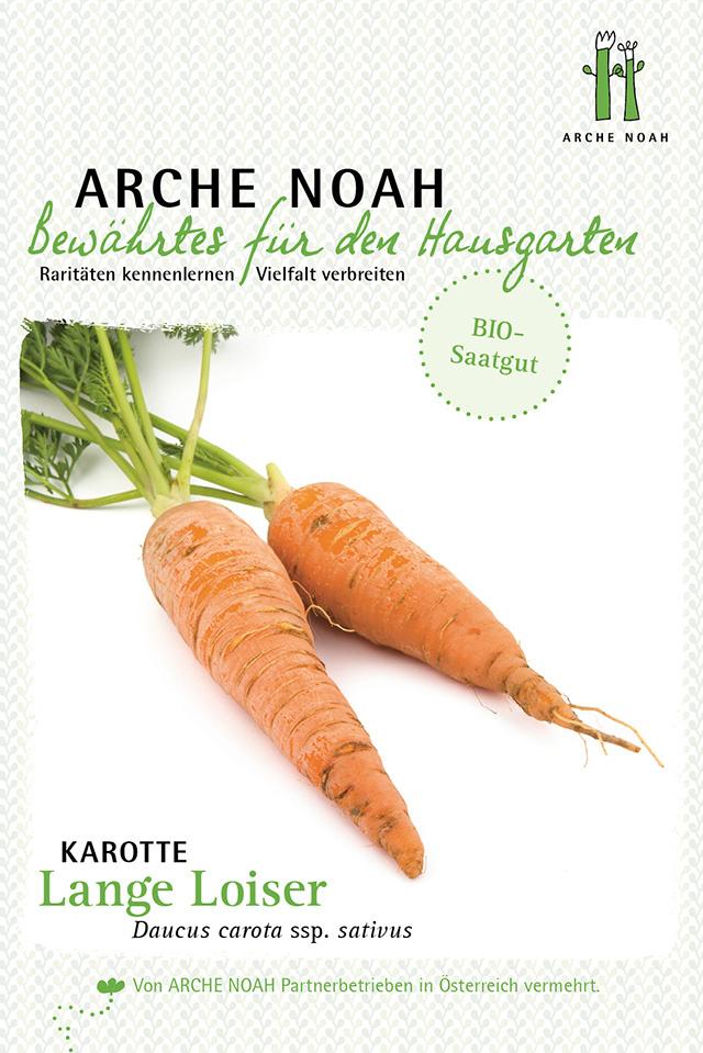 Arche Noah BIO-Karotte Lange Loiser