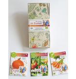 Saat & Gut BIO-Kinder-Saatgut-Box  'Lottas dreierlei gesundes Gemüse'