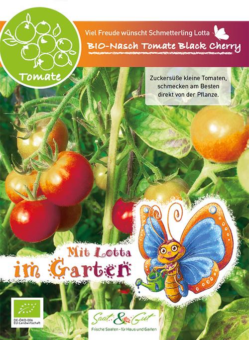 Saat & Gut BIO-Naschtomate Black Cherry - für Kinder